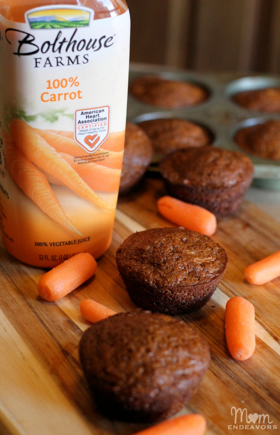 Bolthouse Farms Carrot Juice Muffins
