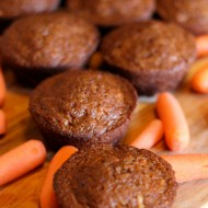 Carrot Muffins with Carrot Juice