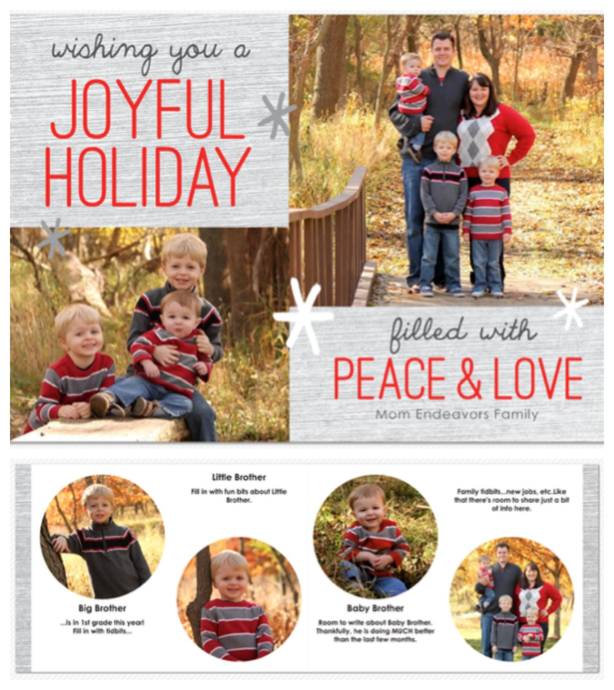 Christmas Card Layout1