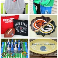 15+ Great DIY Gifts for Football Fans!! {College Football Tailgate Link Party}