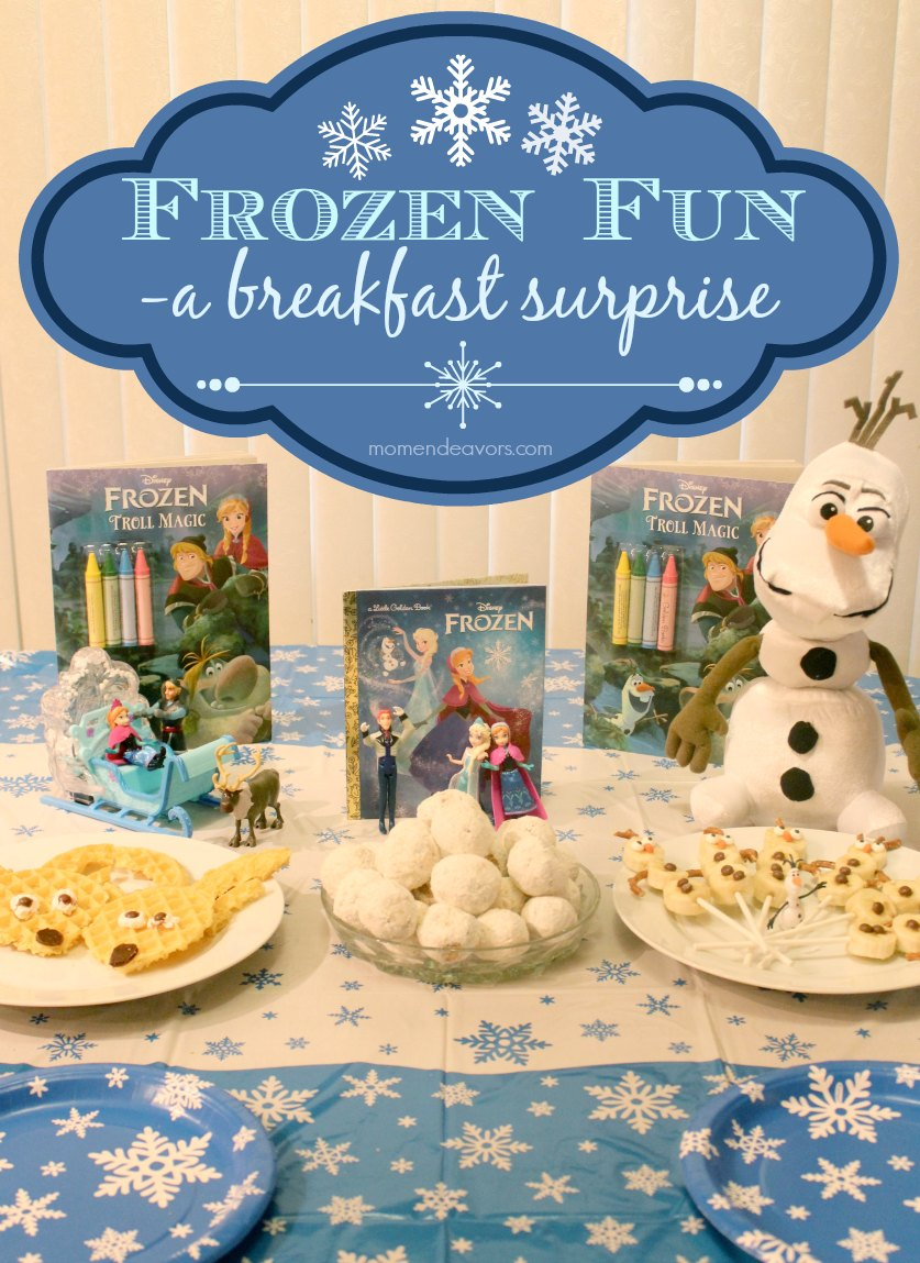 Disney Frozen Themed Breakfast Amp Mini Party Ideas Frozenfun