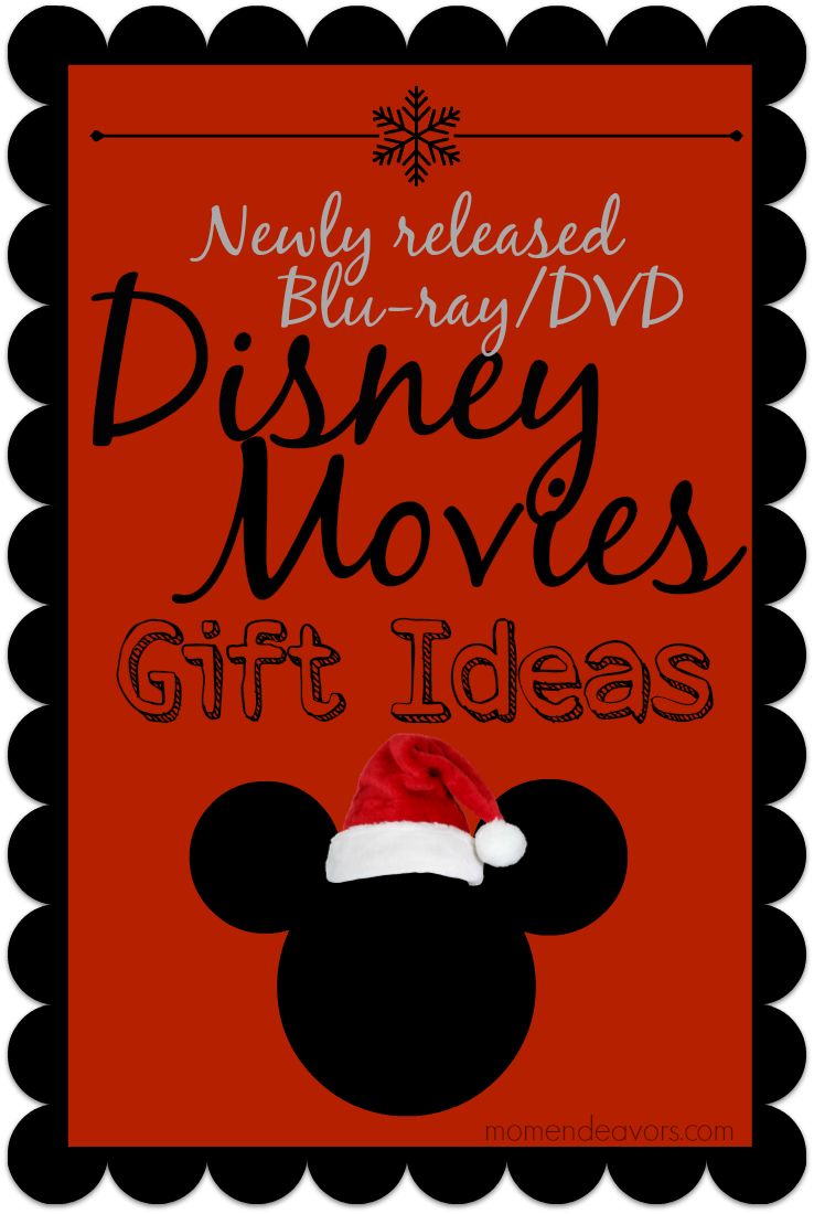 Disney movies make great gifts or stocking stuffers!