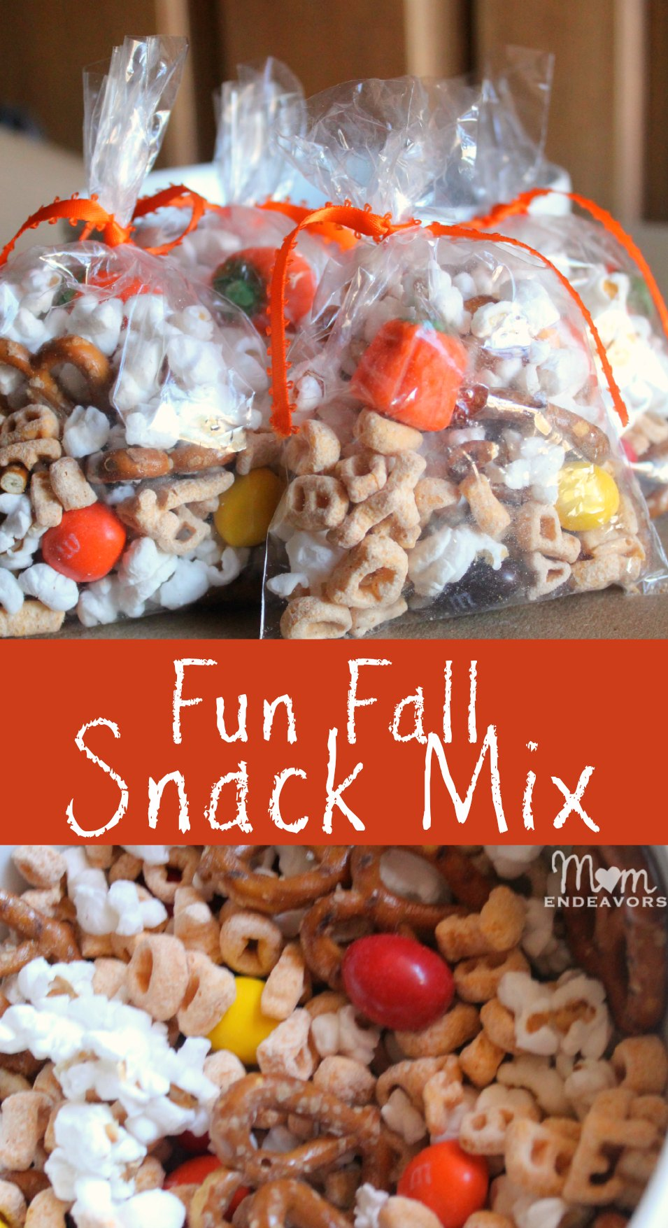 Fun Fall Snack Mix