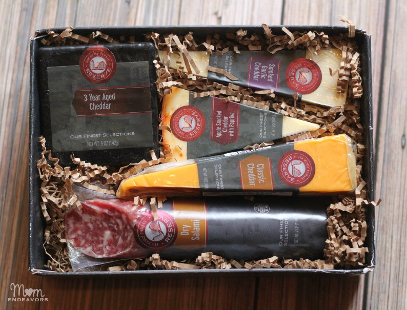 Hickory Farms Cheddar & Salami