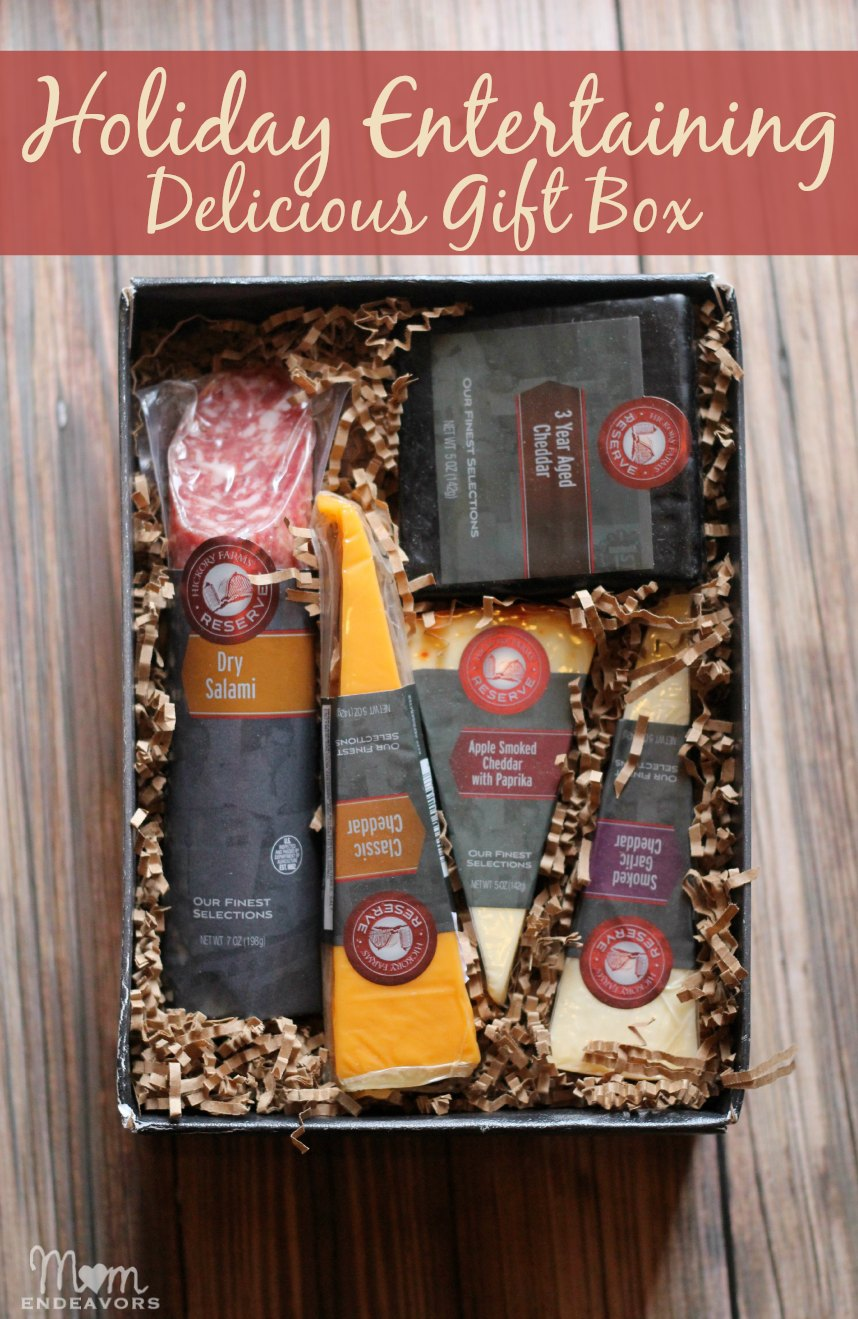 Holiday Entertaining Gift Box #HickoryTradition