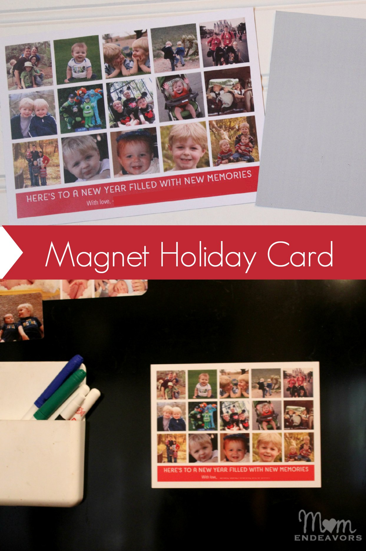 Magnet Holiday Card
