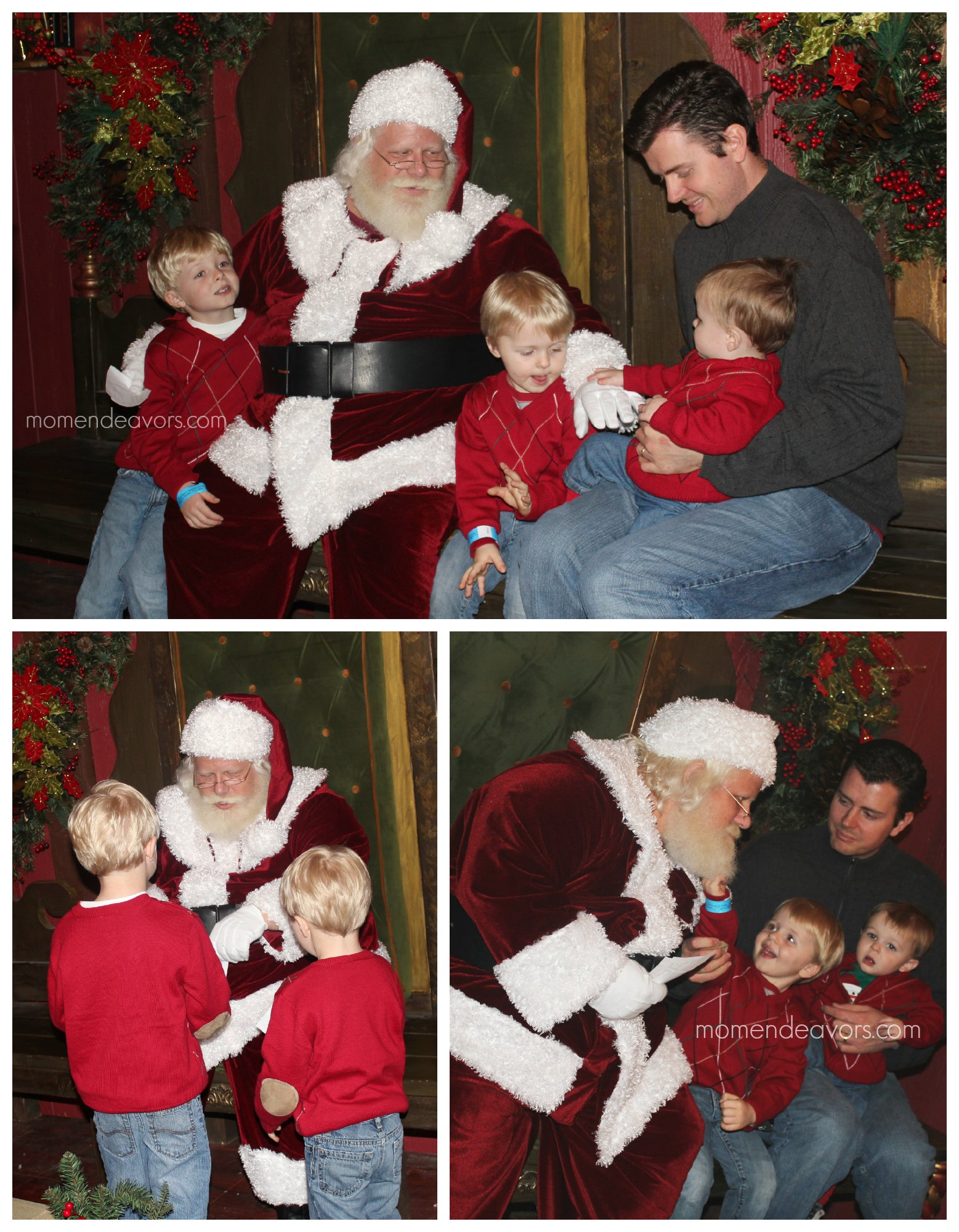Meeting Santa at the North Pole
