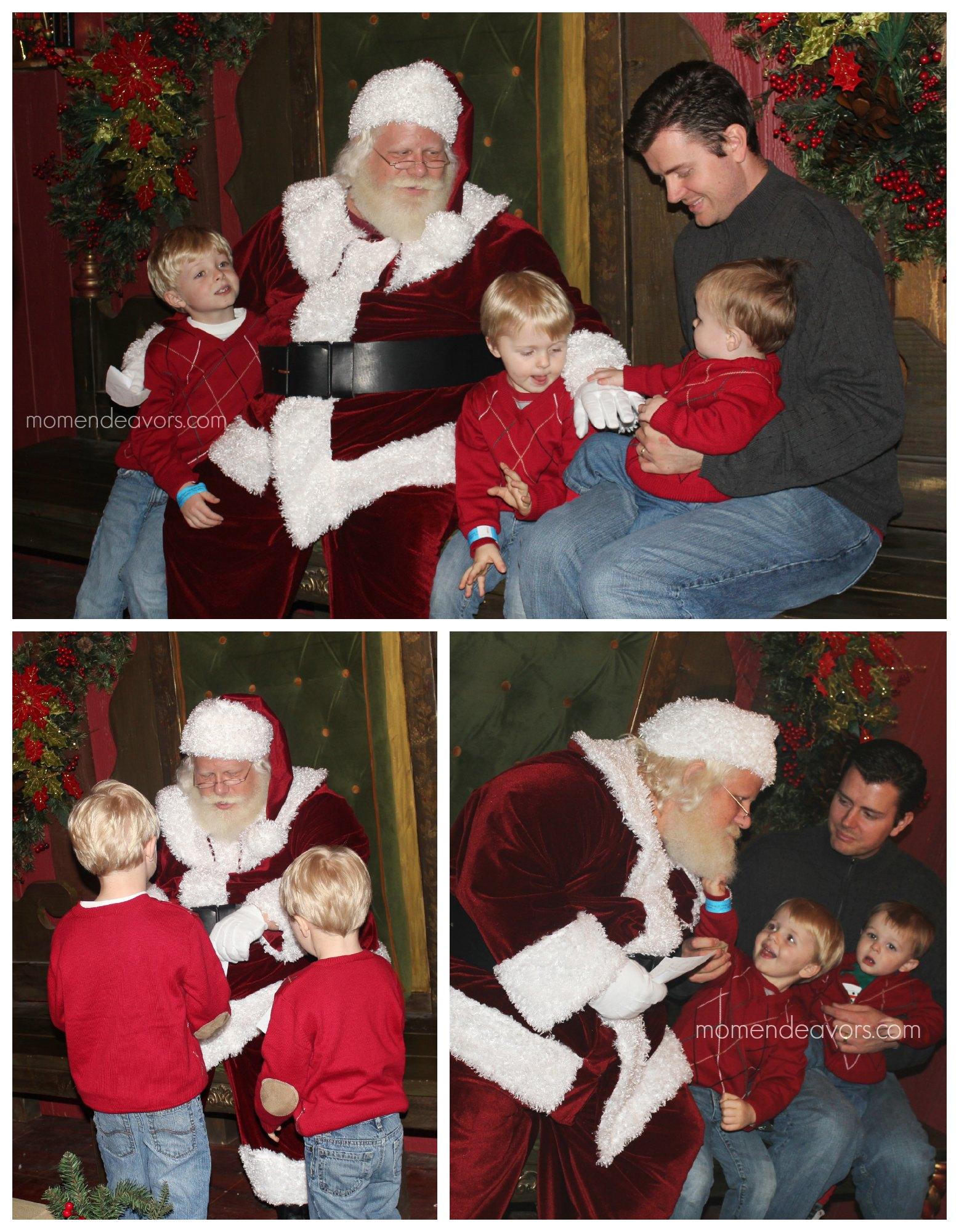 Meeting Santa at the North Pole