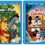 30th Anniversary Special Edition of Mickey's Christmas Carol and Winnie The Pooh: A Very Merry Pooh Year