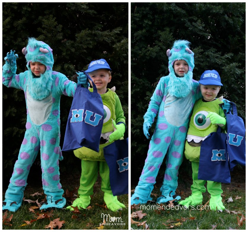 Mike & Sulley Costumes