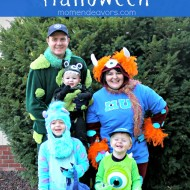 Monsters University Family Themed Halloween Costumes – 2013 Recap
