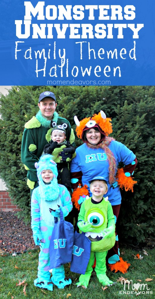 Monsters University Family Themed Halloween Costumes