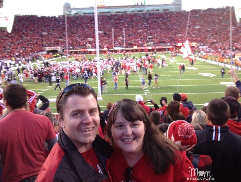 Nebraska Huskers Hail Mary Win postgame