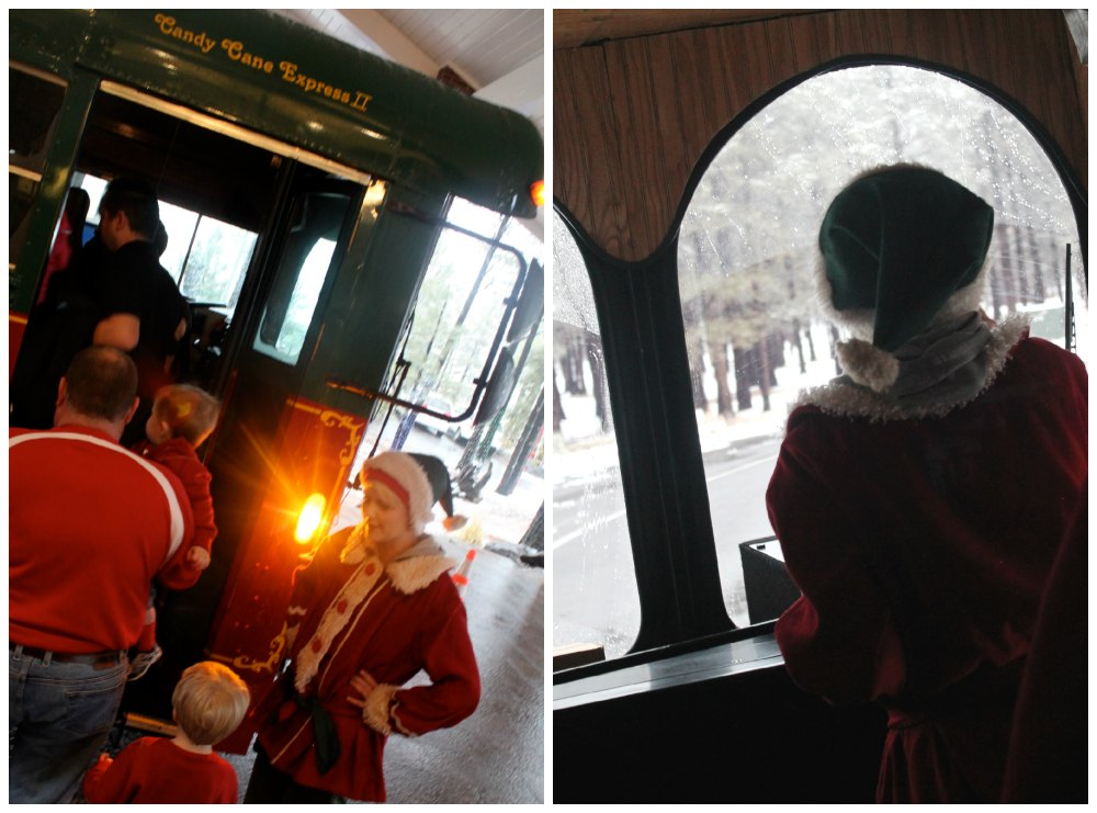 North Pole Experience Trolley