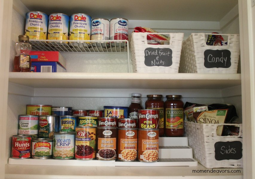 Pantry Can Organization