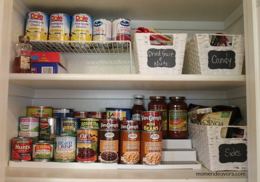 Pantry Can Organization