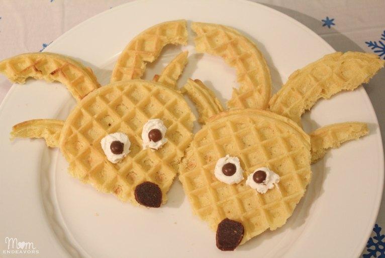Reindeer Waffles