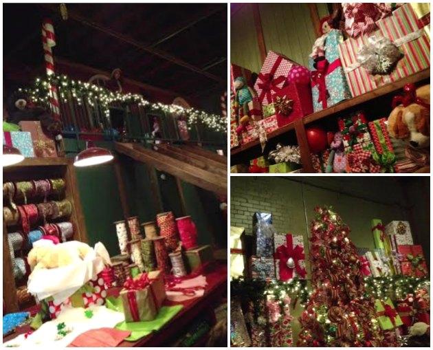 Santa's Wrapping Room #NPX