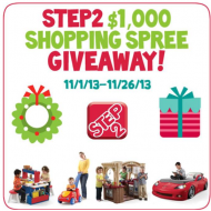Step2 $1000 Shopping Spree Giveaway