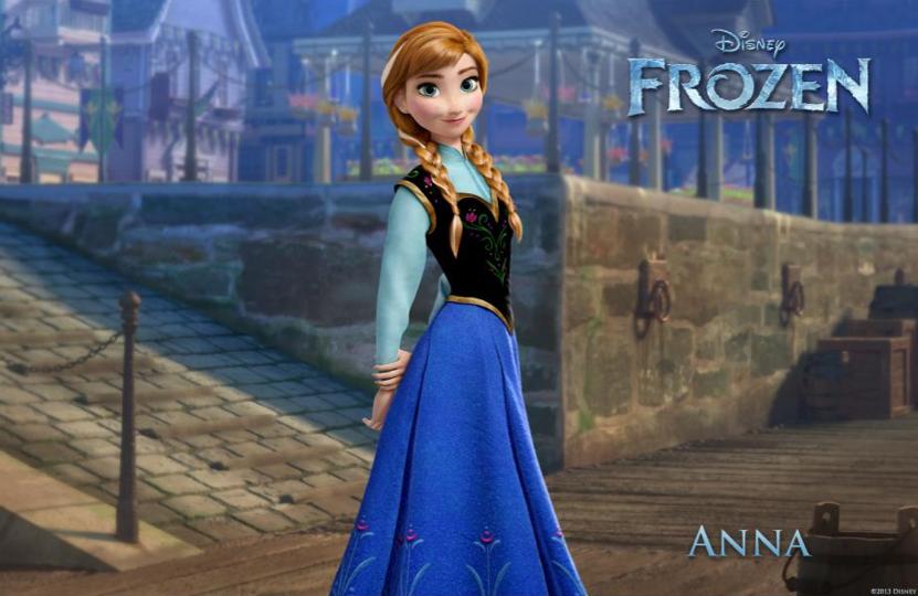 Anna from Disney Frozen