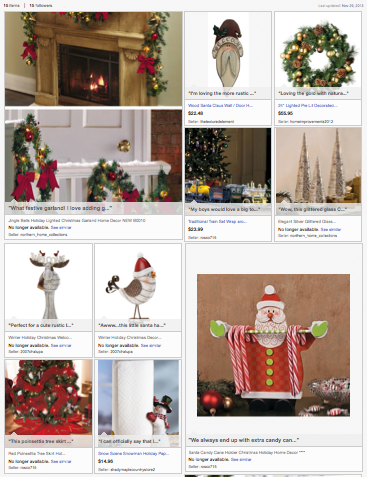 Deck the Halls eBay collection