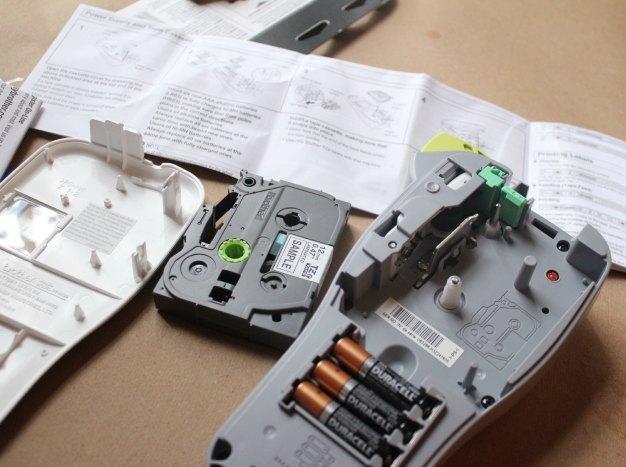 Setting up a label maker