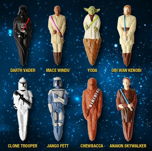 Star Wars Character Pens #CerealWars
