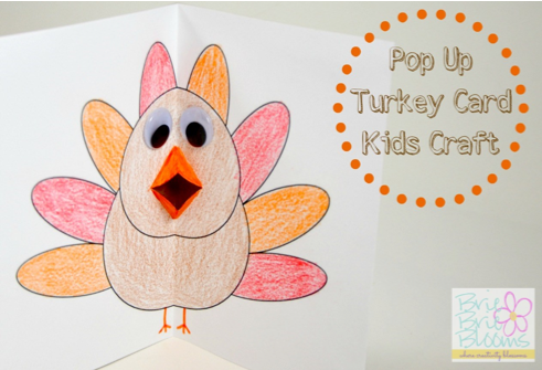 Thanksgiving Pop Up Card