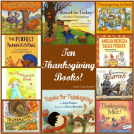 10 Great Thanksgiving Children's Books!