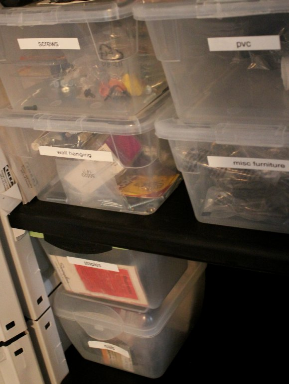 labeling bins