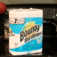 Keeping the Kitchen Cleaner with Bounty DuraTowels!