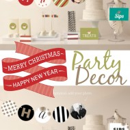 Christmas & New Year's Party Decor from Minted