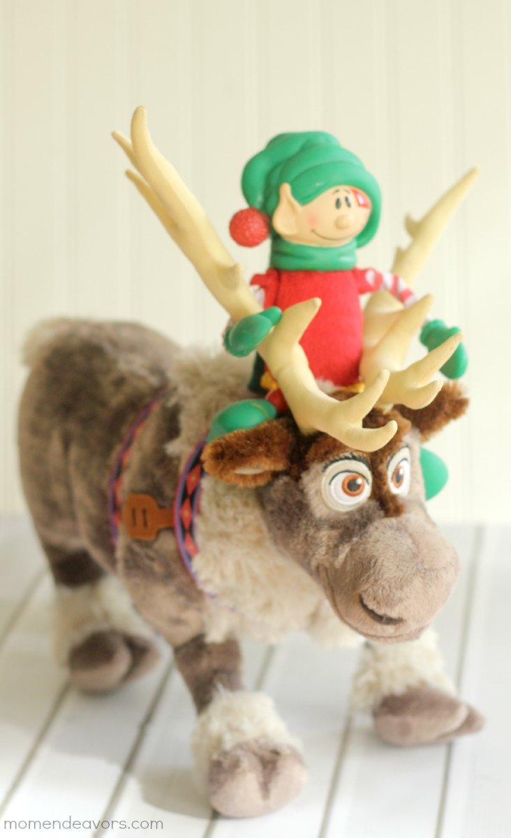 Disney Frozen Elf on the Shelf idea #elfontheshelf