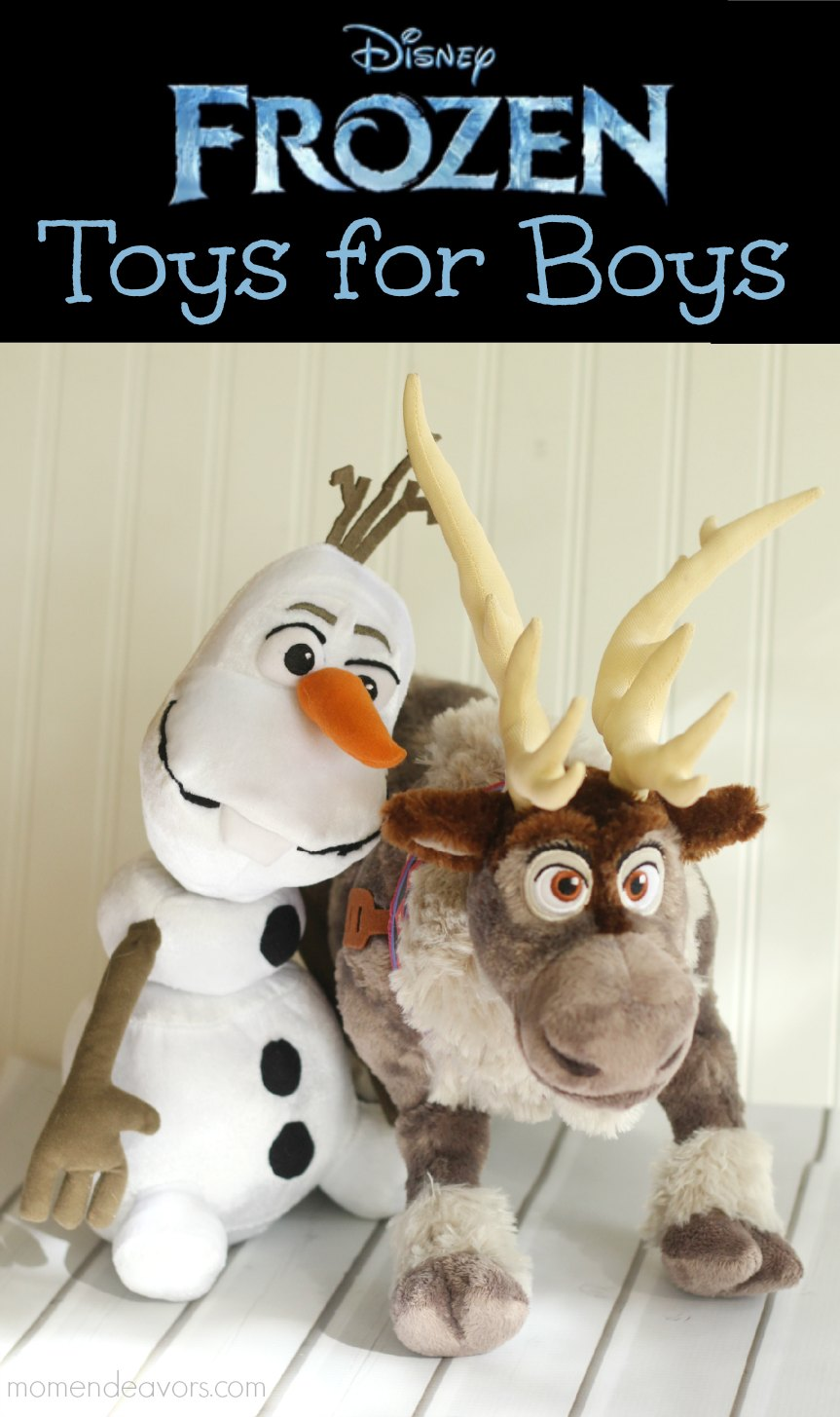 Check out these great FROZEN toys for boys!