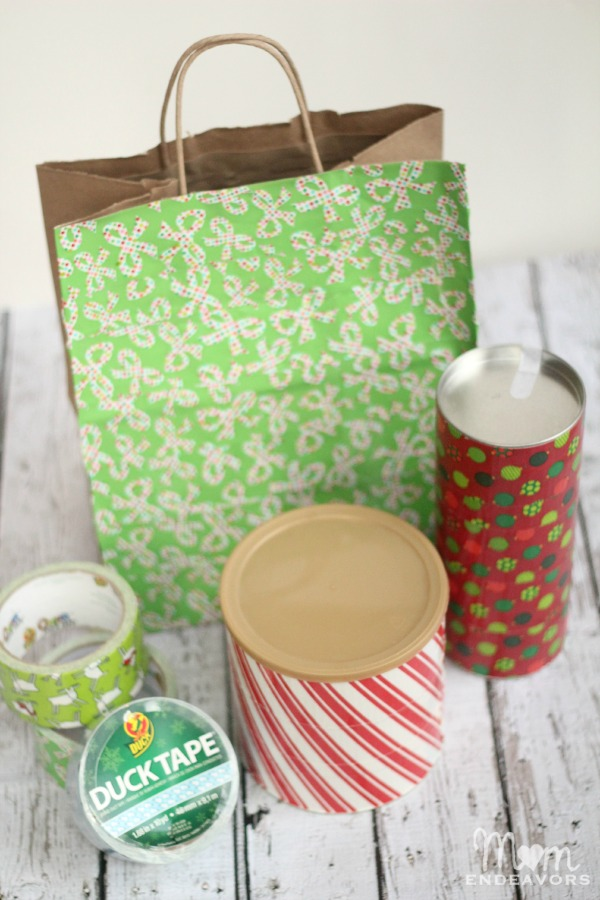 Duck Tape Gift Packaging