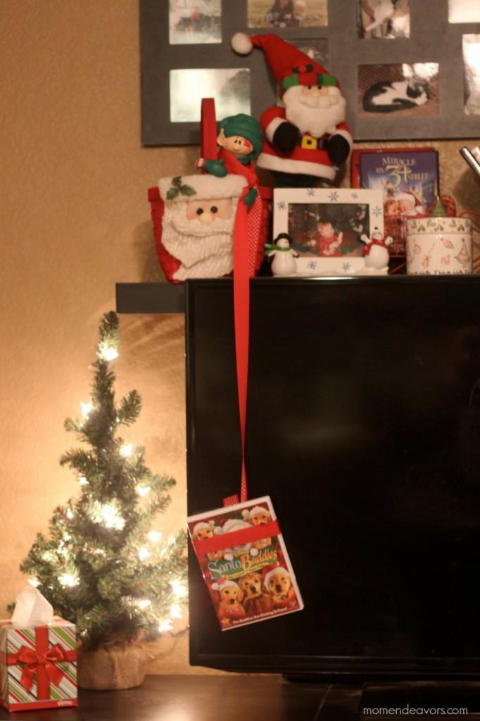 Elf on the Shelf DVD idea
