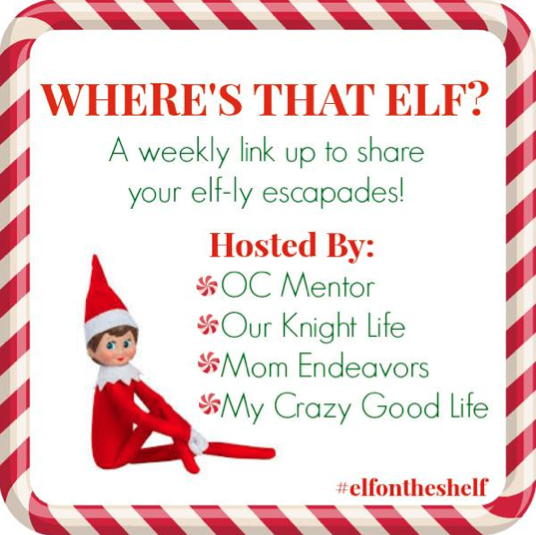 Disney Inspired Elf on the Shelf Ideas & #ElfontheShelf Link Party
