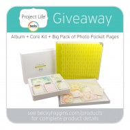 Project Life Memory Keeping Products {Huge Giveaway Event!!}