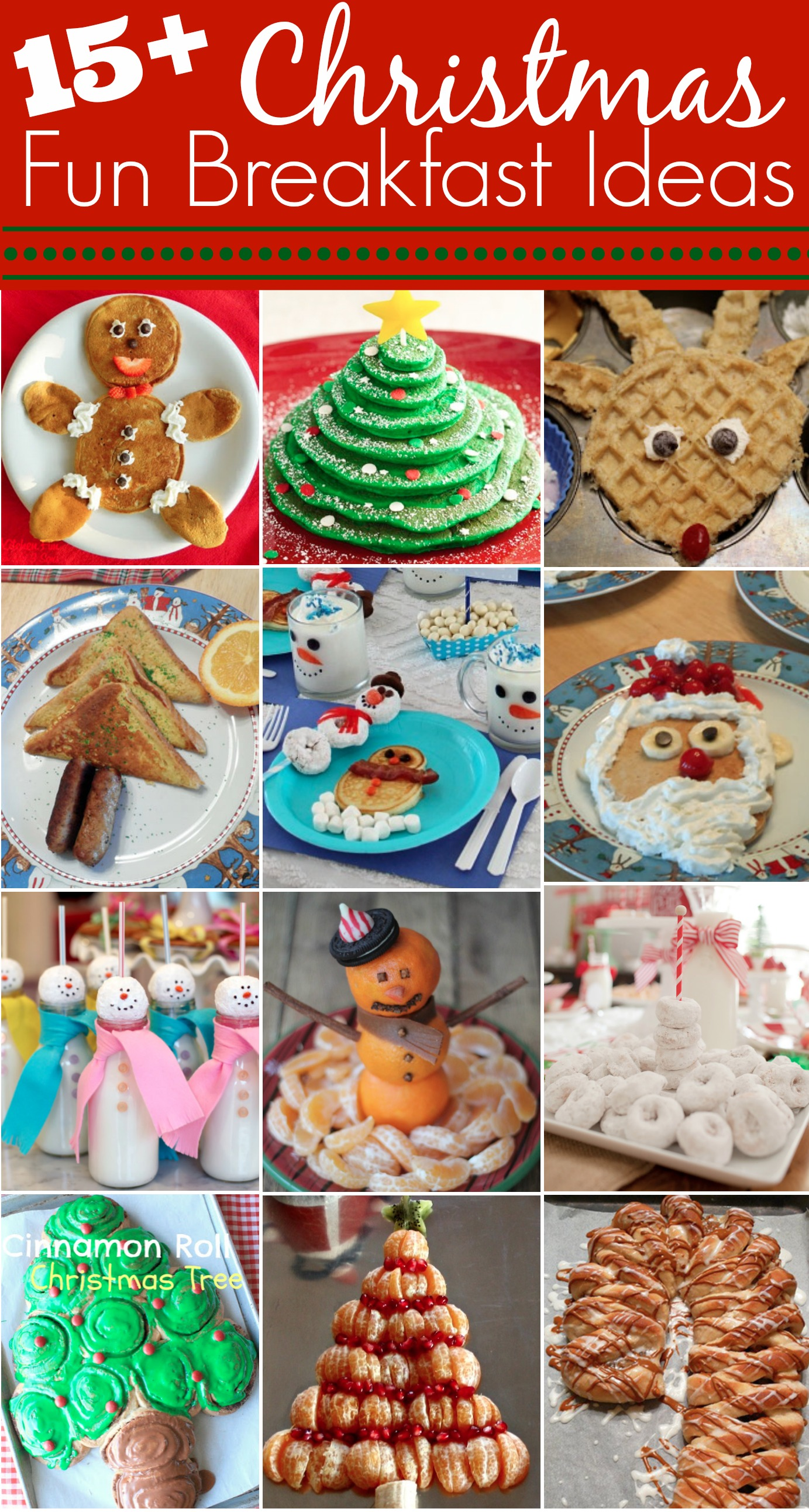 Fun Christmas Breakfast Ideas