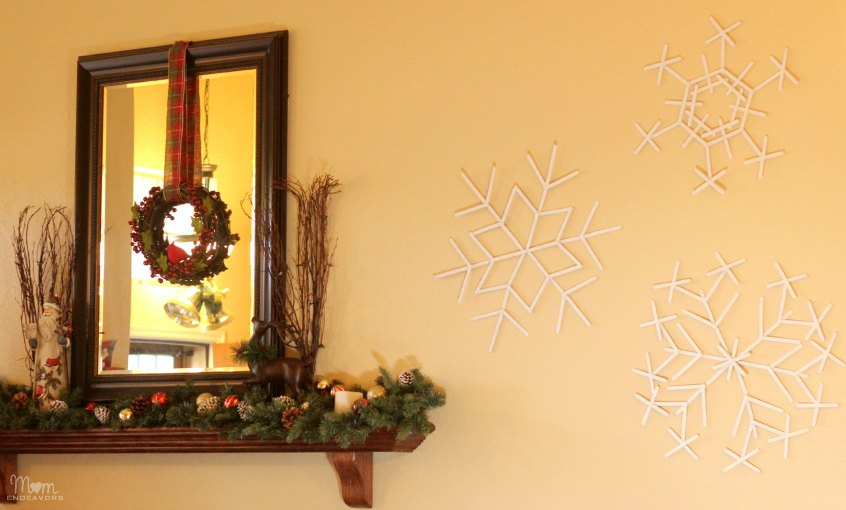 Giant Snowflake Decorations