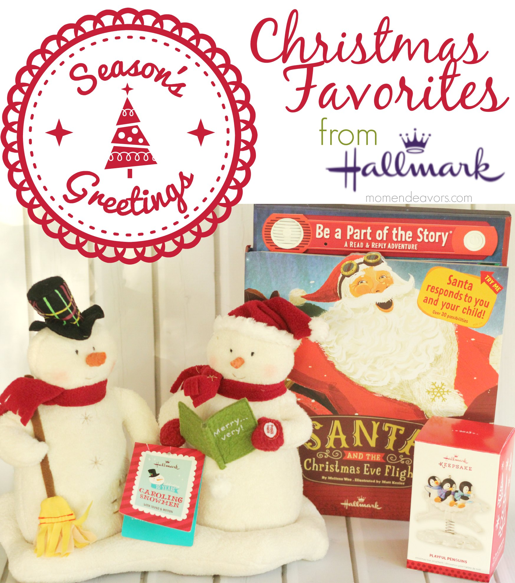 Favorite Hallmark Christmas Products