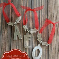 Beautiful Lisa Leonard Personalized Christmas Ornaments – 15% off code!