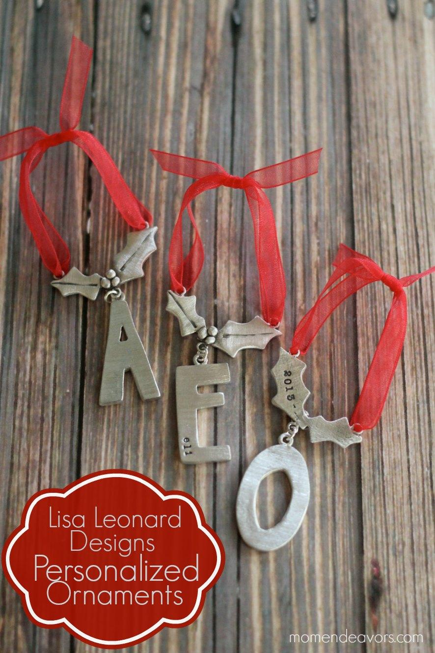 Lisa Leonard Designs Personalized Ornaments
