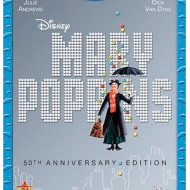 Mary Poppins 50th Anniversary Blu-Ray Dvd