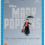 Mary Poppins 50th Anniversary Blu-Ray Dvd