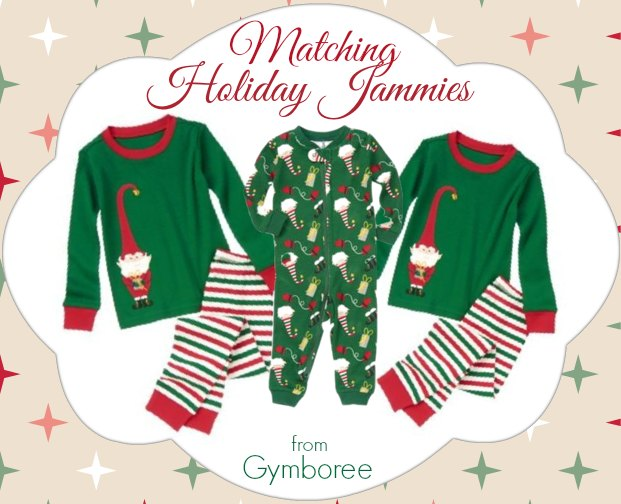 Matching Holiday Outfits for the Boys at Gymboree!