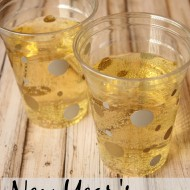 Easy DIY New Year's Party Cups