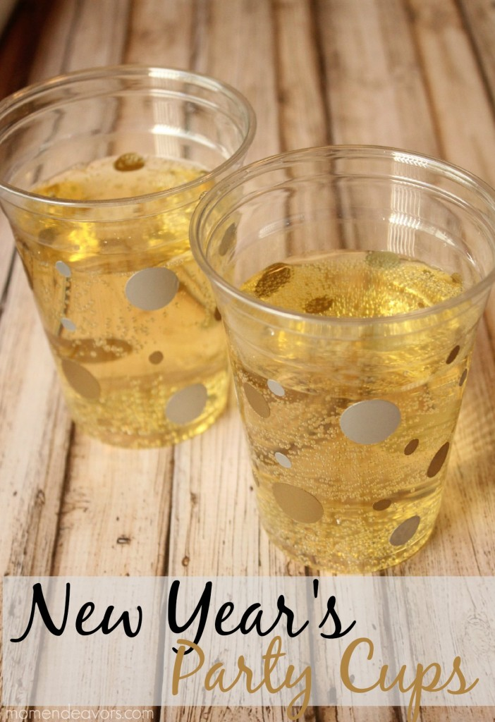 New Year's Party Cups