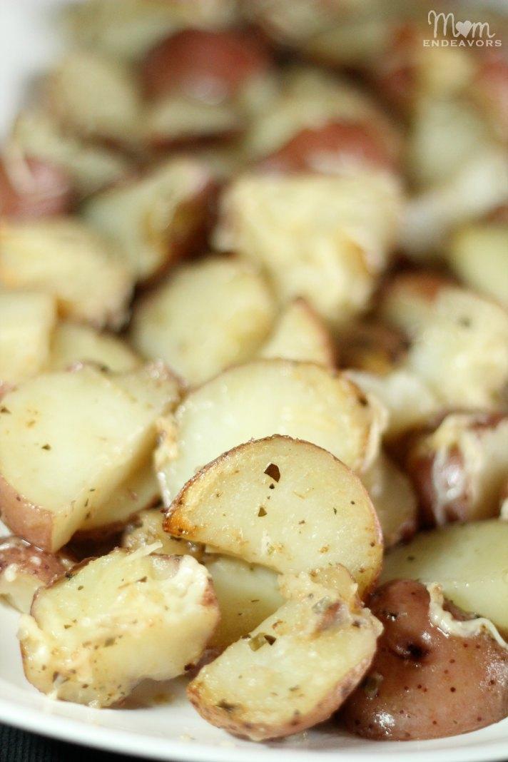 Parmesan Roasted Garlic & Herb Potatoes