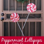 Peppermint Lollipops DIY Christmas Decor